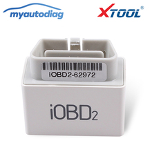 Promotion 2017 100% Original XTOOL iOBD2 Bluetooth OBD2/EOBD Auto Scanner Code Reader For iPhone/Android Vehicle Diagnostic Tool