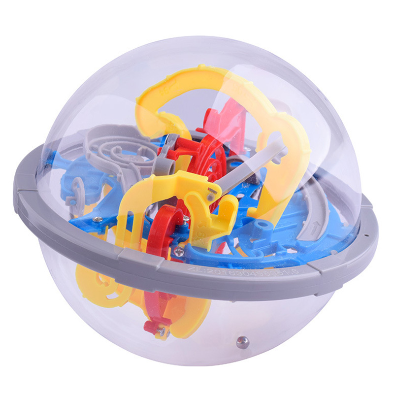 3D Labyrinth Intellect Ball Balance Barrier Magic Maze Puzzle Toy Children Educational Toy YJS Dropship