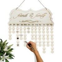 2019 календарь на день рождения Настольный металлический креативный функциональный календарь декоративный подарок