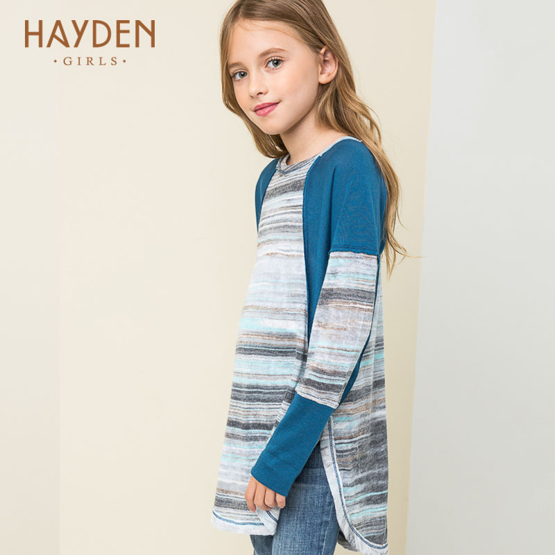 HAYDEN girls dresses summer spring 6 7 8 9 10 years sundress princess costumes girl clothes for girls children fashion clothing hayden girls sundress summer dress girl kids 14 11 10 8 7 9 years teenagers dress bohemian embroidered dresses for children