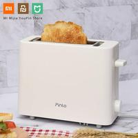 Xiaomi Pinlo Toaster 500W Mijia Mini Bread Maker Stainlee Steel Breakfast Baking Bread Maker Toaster from Youpin for Home