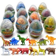 Пазл 4D складной деформированный динозавр яйца Имитация животных модель Люкс детская, развивающая Модель рабочего украшения подарок для мальчика