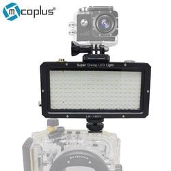 Mcoplus 160pcs Waterproof Underwater LED Video Photographic Lighting 30M 98ft for Sony Canon Nikon Camera GoPro SJCAM Sport DV