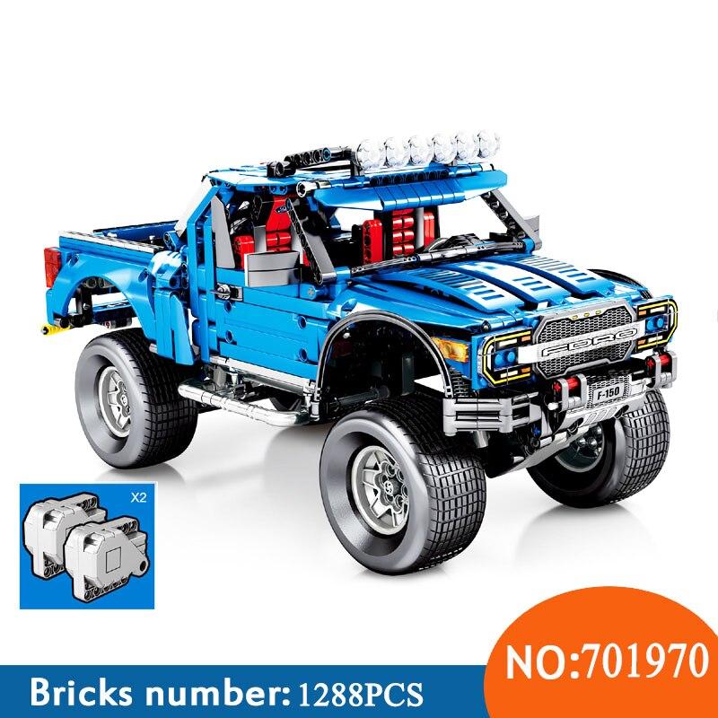 Sembo Technic series 701970 nouveau le F-150 Raptor pick-up modèle blocs de construction set jouets classiques pour les enfants