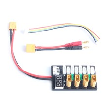 4CH Parallel Charging Board XT60 For ISDT D2 Q6 SC-608 SC-620 Imax B6 Charger 828 Promotion(China)