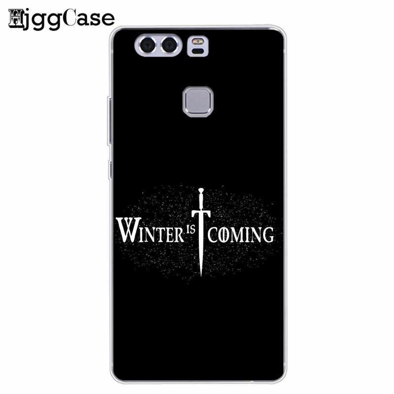 Game of Thrones Soft Phone Case Cover Coque Fundas For Huawei P10 P20 Pro P8 P9 Lite 2017 Mate 10 20 Pro Lite Honor 9 10 Lite