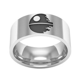 f751712ebb94 Gelicidad de plata anillo clásico médico que anillo de los hombres de  titanio anillo de acero