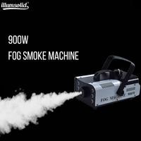 900W 6pcs leds RGB 3in1 Smoke Fog Machine Wireless Remote DJ Disco Party Stage