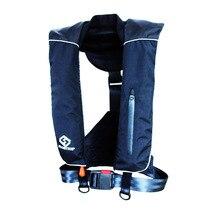 FLOATTOP automática adultos inflable Manual PFD vida chaleco salvavidas supervivencia natación náutica pesca 150N flotabilidad 33lbs