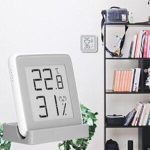 Image 3 - Xiaomi miaomiaoce e link tinta tela inteligente display digital medidor de umidade de alta precisão termômetro sensor de umidade de temperatura