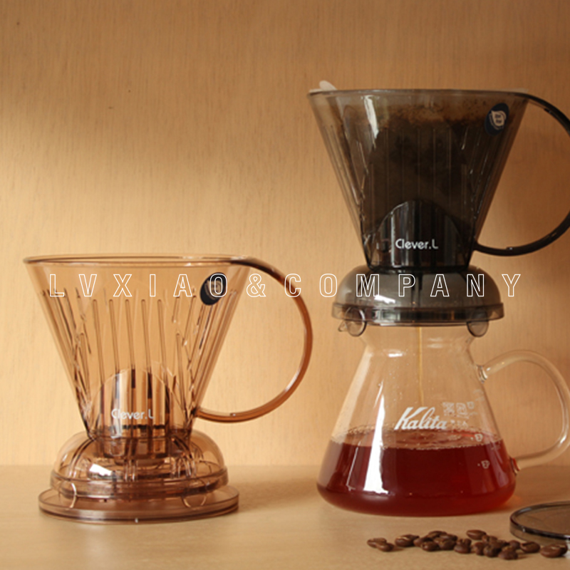 1-2/2-4 Cups Coffee Immersion Dripper Clever Coffee Dripper Reusable For Travel Or Home Use /Perfect For Pour Over Coffee