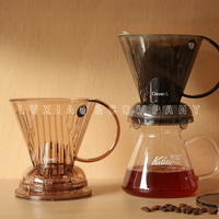 1 2/2 4 cups coffee dripper MR.CLEVER Smart cup