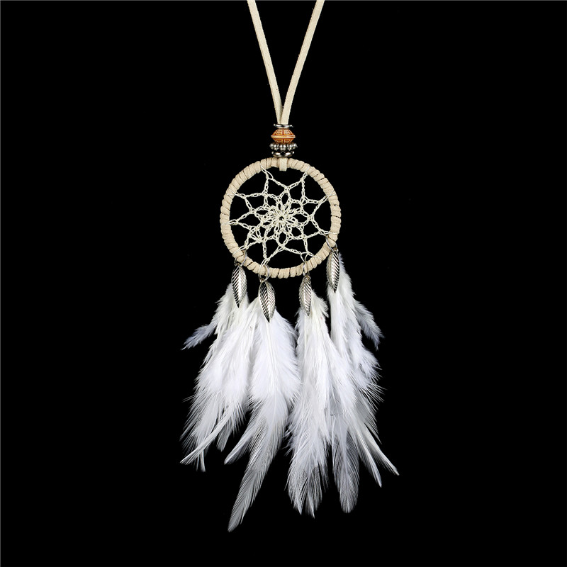 Necklace Fashion Jewellery with Pendant Dream Catcher Various Colors