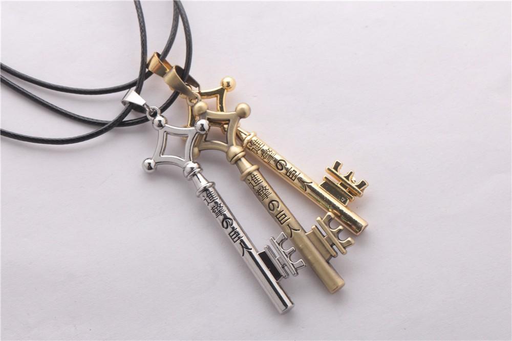 Attack on Titan Eren Jaeger Necklace Key 1
