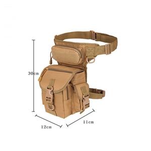 Image 2 - Saco de emergência Protetor Mais Magia Pacote de Cintura Tático Molle Acampamento Caminhadas Cintura Bolsa de Nylon Multi função Da Mão de Primeiros Socorros kits