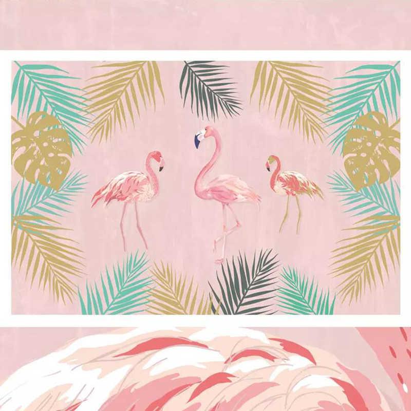 Wallpaper Kamu Laki Pink Wallpaper Animasi Desktop Wallpaper 3d Foto HD Bunga Dekorasi Dinding Kamar Bayi.jpg q50