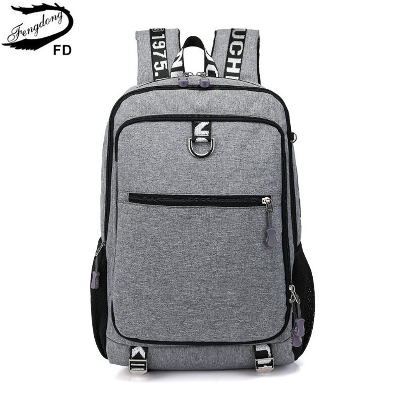 FengDong school bags for boys student school backpack men travel bags kids boy laptop computer bag pack schoolbag dropshipping fengdong school backpacks for boys black laptop computer backpack kids school bag bagpack men travel bags backpacks for children