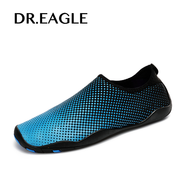 Dr.eagle Men unisex swimming shoes beach and water shoes women aqua socks  slippers yoga