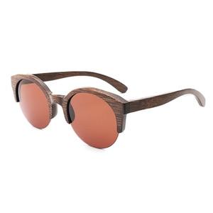Image 5 - BerWer Marrone Colore di Bambù Occhiali Da Sole Da Uomo occhiali Da Sole di Legno Delle Donne di Marca di Occhiali In Legno Oculos de sol masculino