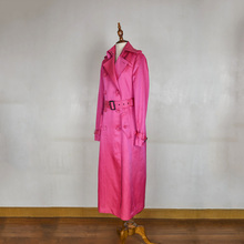 Arlene sain x-long girls cotton trench coat  ral 3027