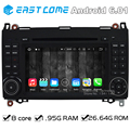 4G Octa Core 8 Core Android 6.0 Car DVD Player for Mercedes Benz Vito Viano Sprinter A B Class W169 W245 VW Crafter LT3 With GPS