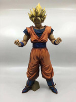 32cm Dragonball Super Saiyan Son Goku Manga GROS Action Figure Toy Collection DBZ Model Toy Doll