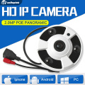 1080P Full HD Fisheye Panorama IP Camera With POE Port 2MP 360 Degree Security CCTV Camera Night Vision Camera For Onvif NVR