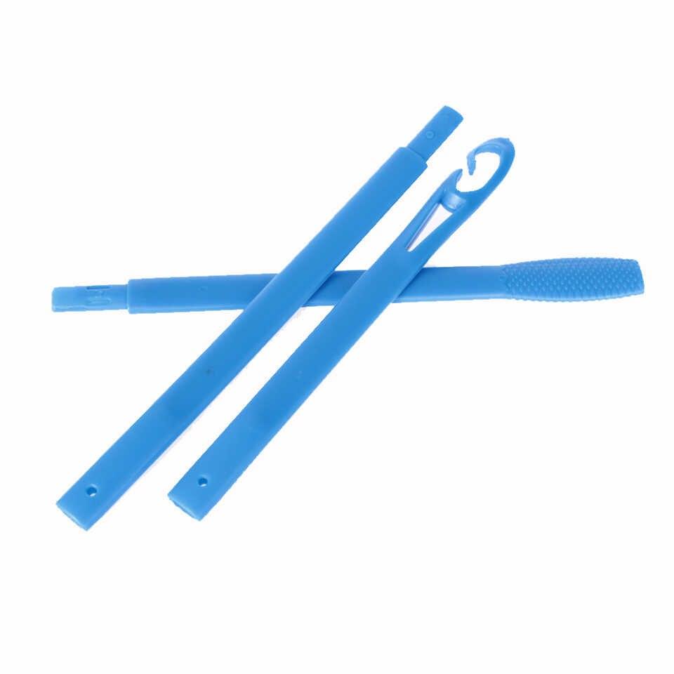 40 sztuk wałki do kręcenia włosów 45 cm kształt rolki stylizacja Curlaer narzędzia bigudies para pelo DIY w domu naturalny sposób papilotki