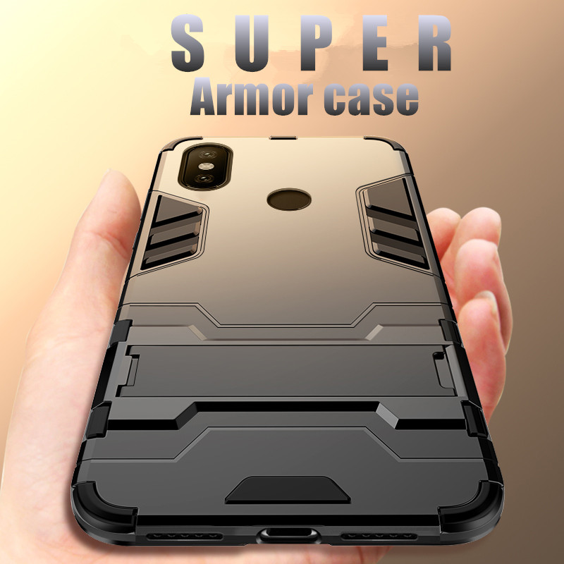Armor Cases For Xiaomi Mi 8 9 Lite SE Explorer Mi8 Lite SE Mi9 Explorer Case For Xiaomi Redmi Note 7 6 Pro Pocophone F1 Case in Fitted Cases from Cellphones Telecommunications