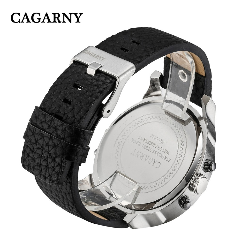 dual time zones military men's watches   (16)
