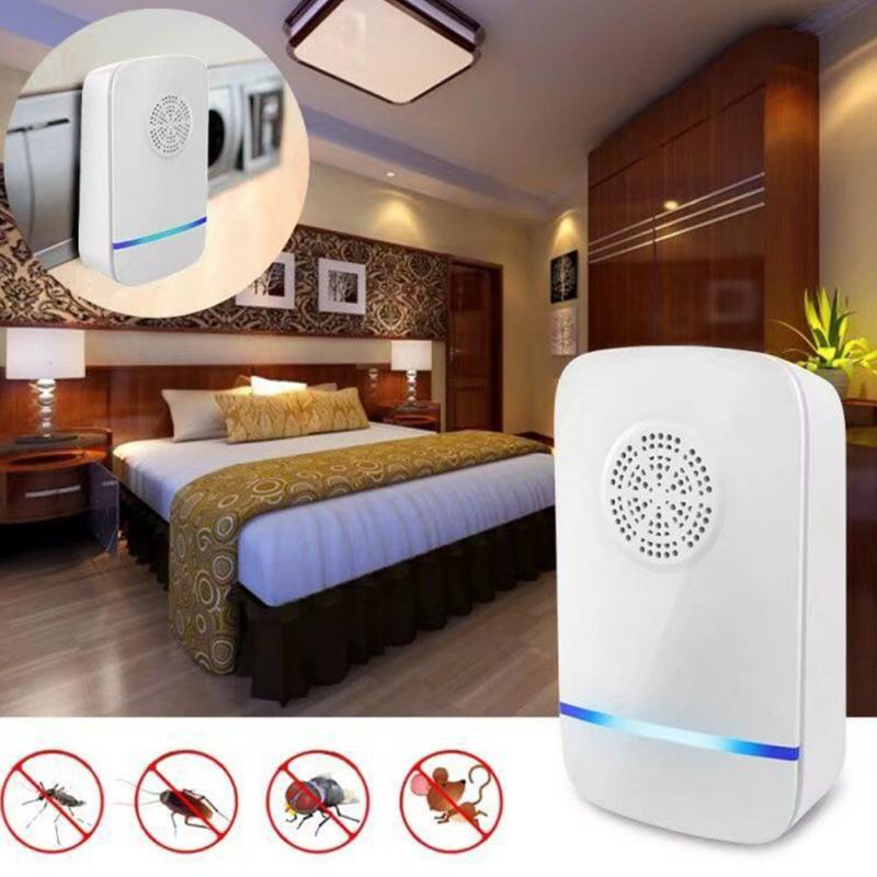 Electronic Ultrasonic Mosquito Repeller Mouse Mosquito Repellent Killer Mouse Cockroach Trap Insect Rats Spiders