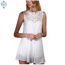 Ameision Womens Summer Dresses 2019 White Lace Mini Party Sexy Club Casual Vintage Beach Sun Dress Plus Size