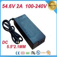 48V 13S Lithium Battery Charger Output 54 6V 2A DC2 1 5 5 Plug 48v2a Li