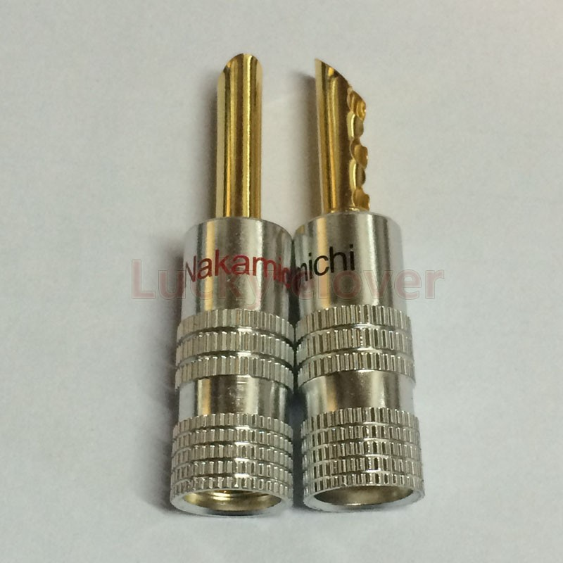 """Pailiccs Gold 3.5mm 1//8/"""" Stereo Male Audio Soldering Connectors Big Tower Shape"""