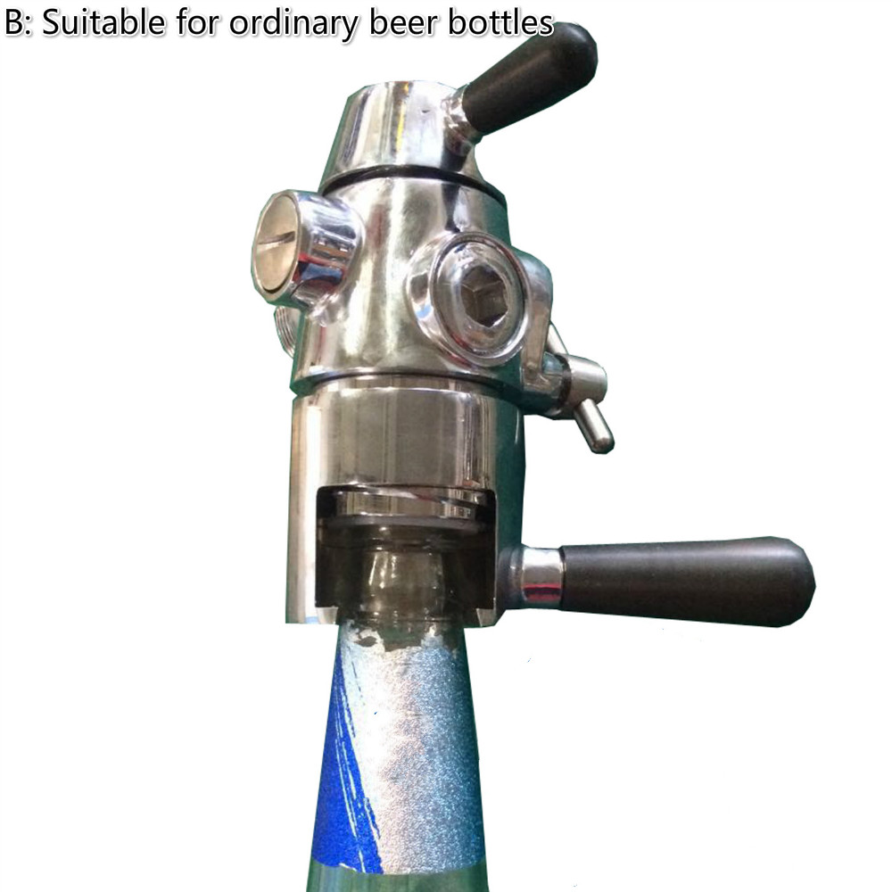 Beer bottle Coke bottle isobaric filling faucet pressure filling machine beer valve-in Valve from Home Improvement    2