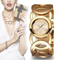 WEIQIN Brand Luxury Gold Watches Women Fashion Quartz Watch Shock Watre Resistant Wristwatch Relogio Feminino Orologio