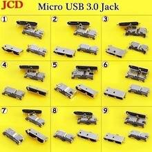 Jcd высокоскоростной micro usb 30 jack гнездовой 10pin smd &