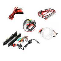 AC DC Jack Power Supply Adapter Connector Plug Universal Probe Telefoon Huidige Test Kabel Voor Elektronische Reparatie