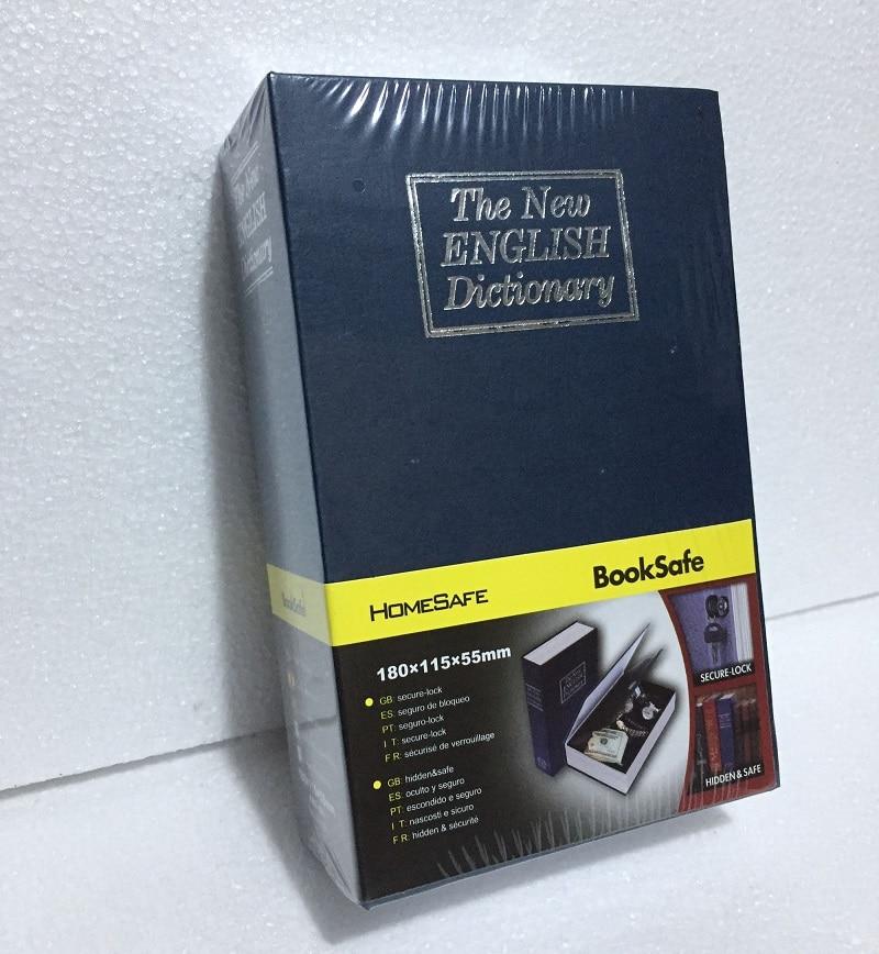 18cm*11.5cm*5.5cm English BooksSafes Dictionary Creative Safes Box Password Open Savings Bank 18cm 11 5cm 5 5cm password bookssafes creative safes box simulation savings bank