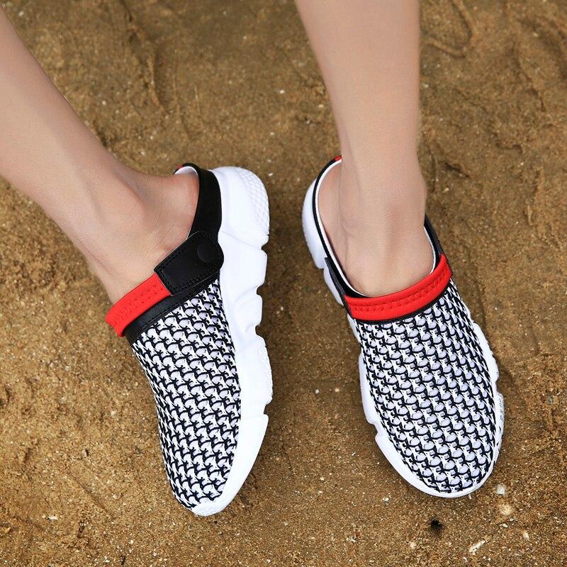 Zapatos En rojo Zapatillas 46 azul Sandalias Negro Grande Para Zapatos blanco 39 Del De Tamaño Resbalón Playa Hombres Ligero Jardín BtwUq5