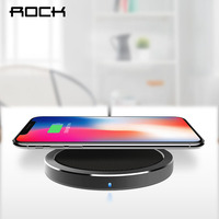 ROCK QI Original Wireless Phone Charger For Samsung Galaxy S6 S6 Edge S7 S7 Edge Note