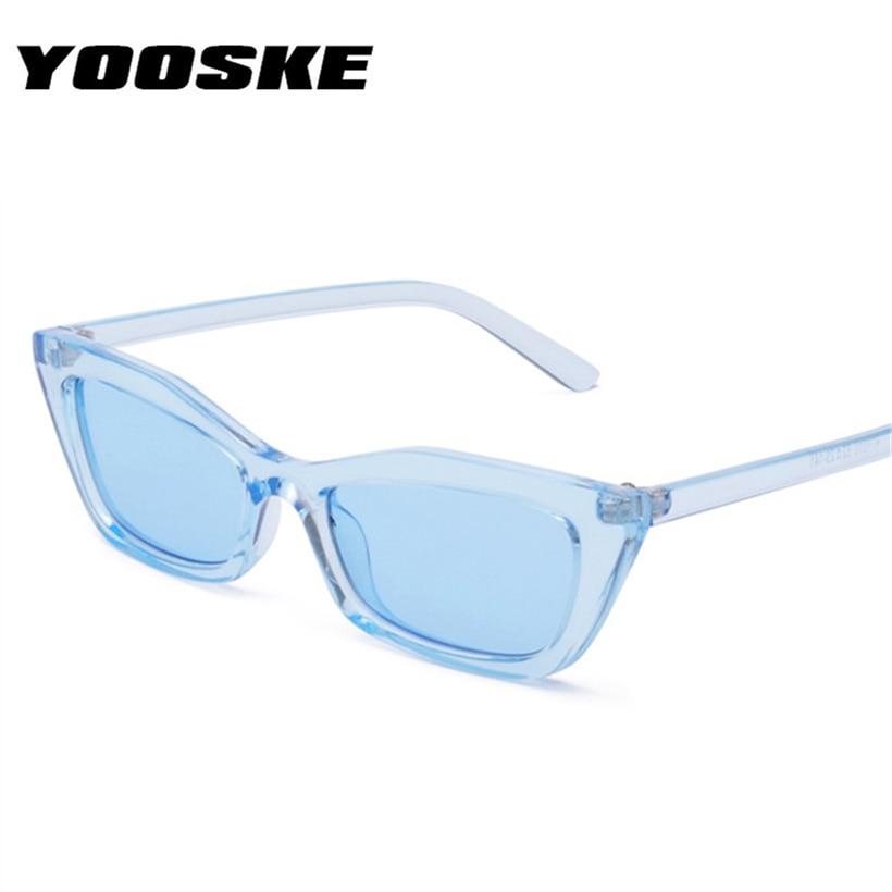 YOOSKE Fashion Cat Eye Brille Frauen Optische Spektakel Rahmen Retro ...