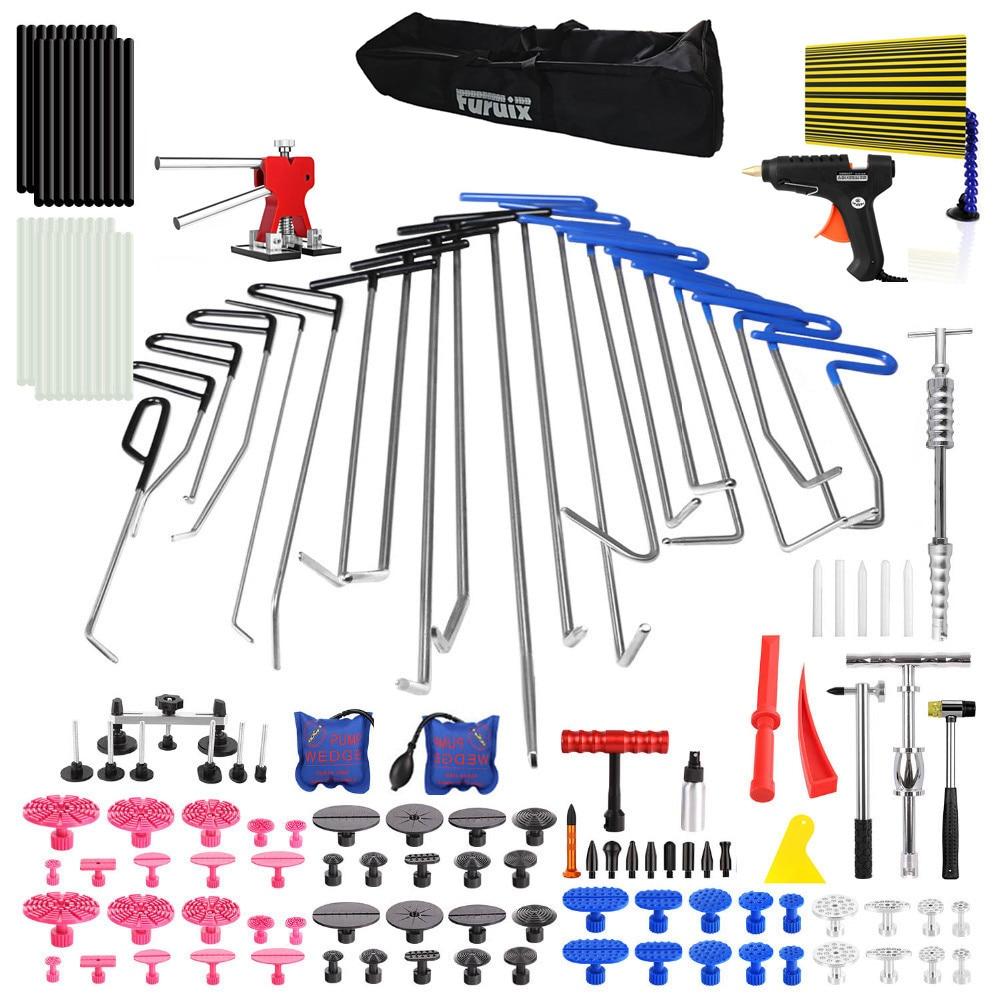 PDR Tool for Hail Damage Removal Rods Dent Puller Slide Hammer Dent Lifter Glue Gun Tap