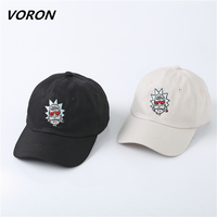 The New US Animation Rick Caps Dad Hat Rick And Morty Hats Adjustable Casquette High Quality