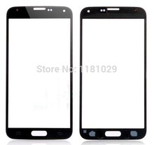 Free Shipping for Samsung Galaxy S5 i9600 Blue Front Galss Lens LCD touch Screen Glass Digitizer Lens