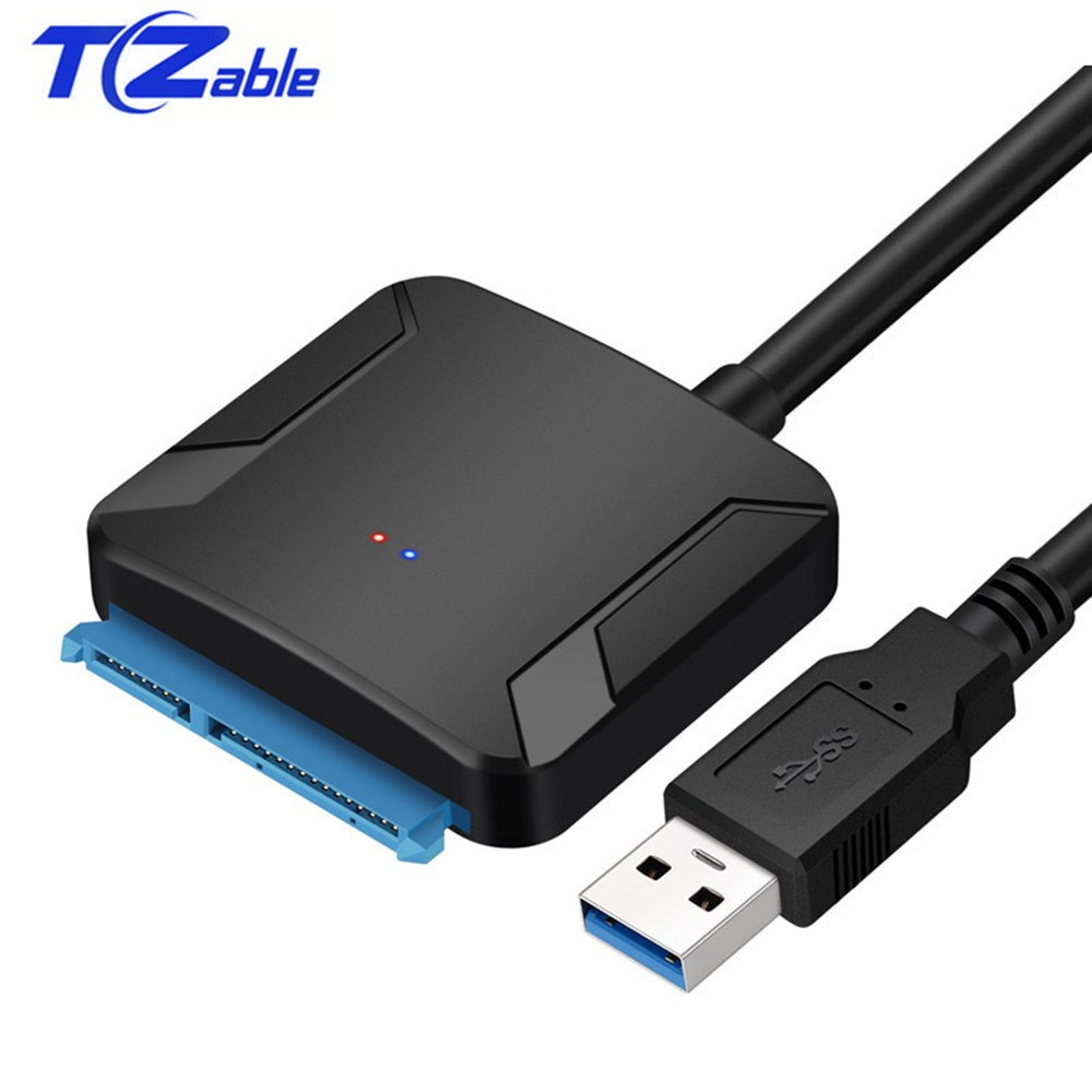 <font><b>USB</b></font> <font><b>3</b></font>. <font><b>0</b></font> To SATA Adapter Converter Line <font><b>USB</b></font> <font><b>3</b></font>. <font><b>0</b></font> Hard Drive Adapter Cable Is <font><b>2</b></font>. <font><b>5</b></font> Inch Notebook Hard Drive Conversion Cable image