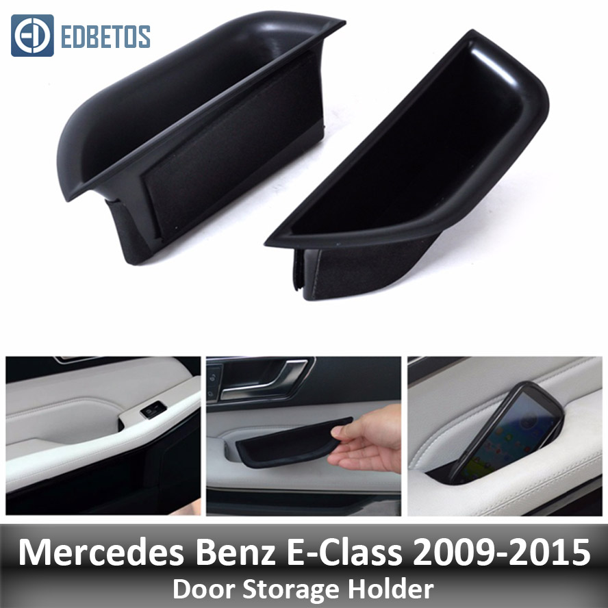 Door Storage Barrel for Mercedes Benz E Class W212 E200 E260 E320 Door Handle Container Holder Tray Storage Box 2009 2010 2015|Stowing Tidying|   - title=