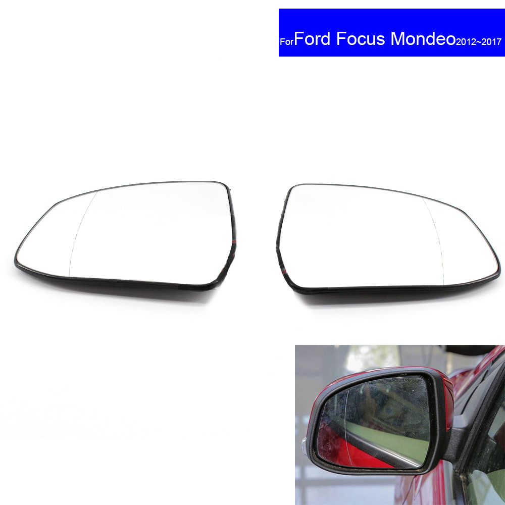 For Kia Rio 2010-2011 right hand side wing door mirror glass