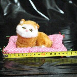 Image 3 - 1 Pc סופר הסימולציה Kawaii עיתונות נשמע גורים חתולים בפלאש צעצועי יום הולדת בובה ממולאת קישוט בית מתנות