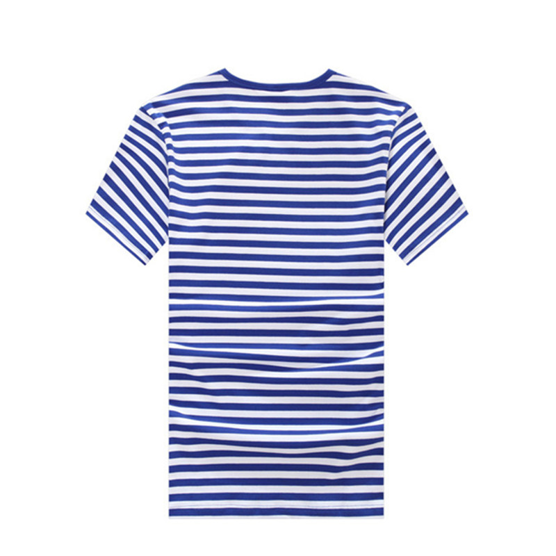 ac4f464b Blue White Stripes Sea Striped Shirt Onlykiss T-shirt Vintage Red Scarf  Family Look T Shirts Haihunshan Mother Daughter Clothes
